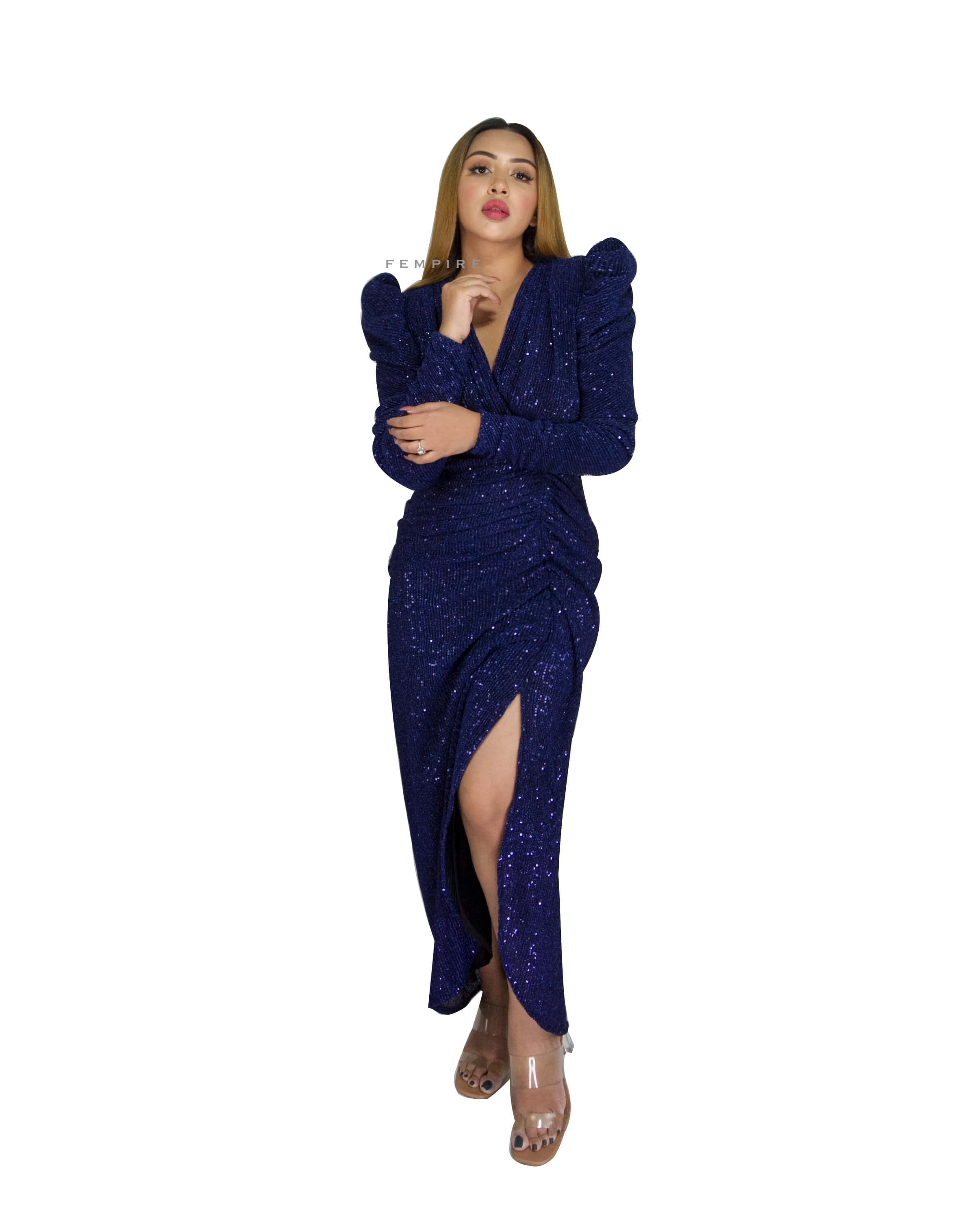 Royal Blue Cocktail Gown